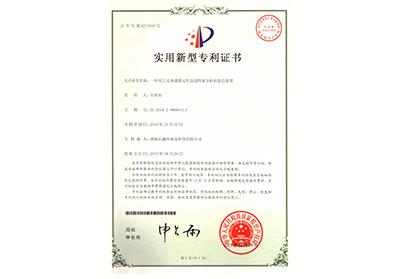 用于反渗透膜元件胶线性能分析的染色装置专利证书