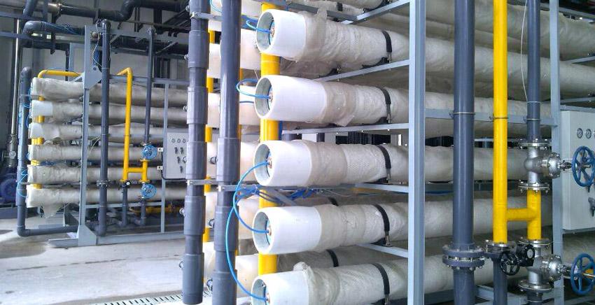 上海光明乳业生产基地应用沁森高科反渗透膜元件