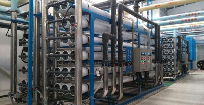 首钢集团动力厂选配苦咸水膜元件